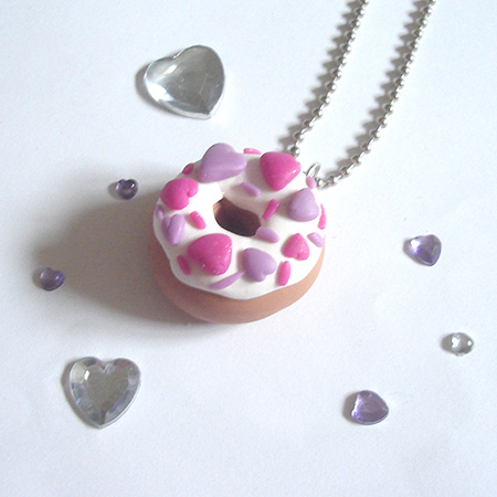 Lovely Donut Necklaces
