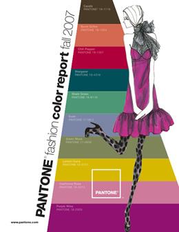 Pantone Color Trends A/I 2007
