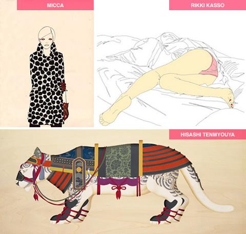 Illustratori Giapponesi #3