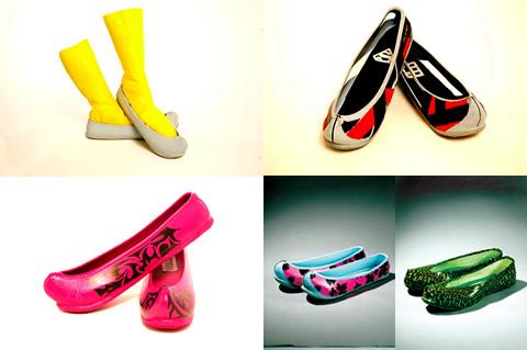 Scarpe di gomma coreane