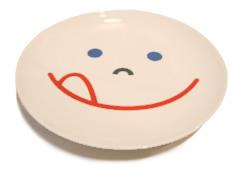 Smile Children Plate