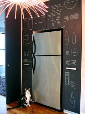 Voglio la vernice lavagna frizzifrizzi - Lavagna cucina ikea ...