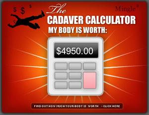 Cadaver Calculator
