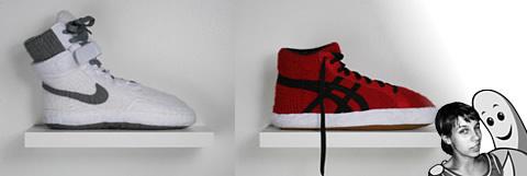 Le sneakers-babbucce di Nina Braun