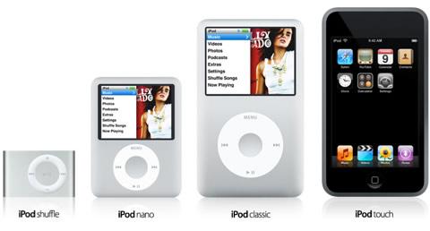 I nuovi iPod