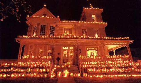 The Kenova Pumpkin House