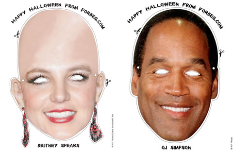 Halloween Maschere Forbes