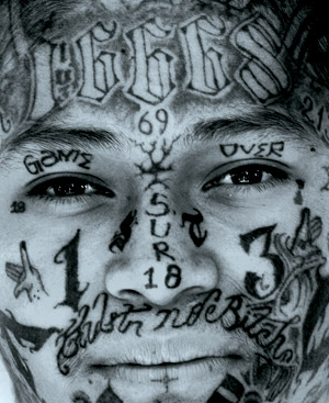 E la mafia frizzifrizzi for Gang face tattoos