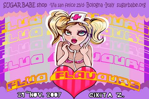 Fluo Flavors @ Sugar Babe