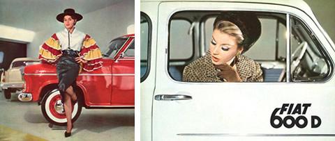 Donne e motori… vintage