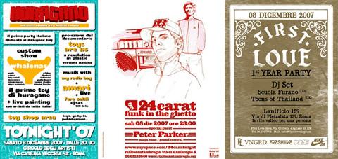 Huragano / 24carat / First Love