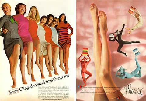 Vintage Stockings Ads
