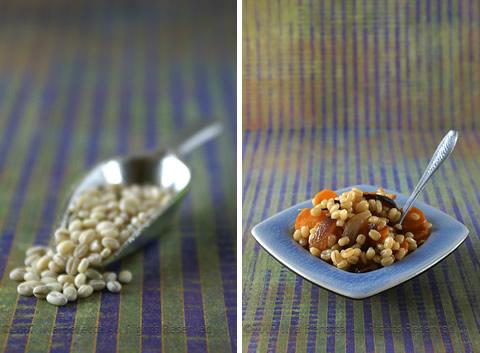 """Orzo """"risottato"""" con carote, cipolle e marsala"""