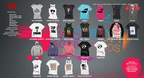 H&M: Fashion Against Aids