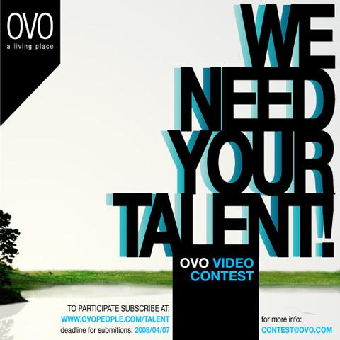 Ovo Video Contest