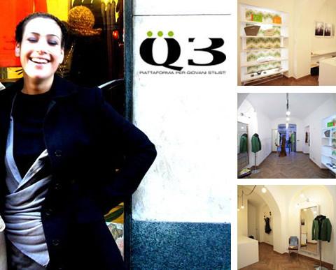 Q3: piattafoma per giovani stilisti