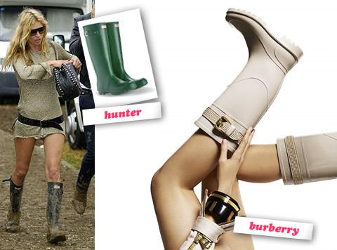 Hunter / Burberry