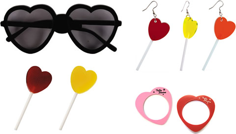 Tatty Devine: sweets for my sweet