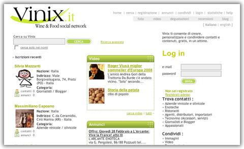 Vinix: un social network dedicato ai vini