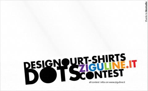 Dots: disegna una t-shirt per Ziguline