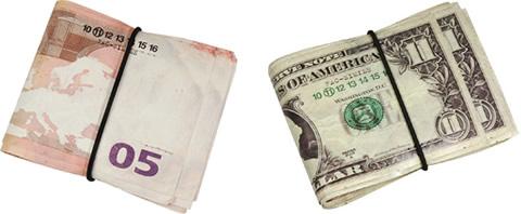 Martin Margiela Euro & Dollar Wallets
