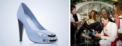 Opel Agila City Shoes