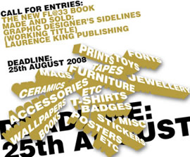 Graphic Designer's Sidelines: call for submissions