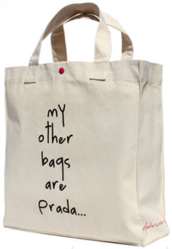 My other bags are Prada…