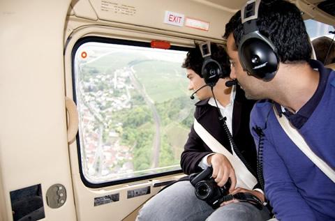 Veuve Clicquot - elicottero
