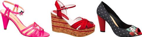 Fornarina: collezione calzature SS09
