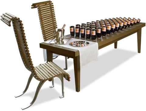 Veuve Clicquot - Table de Remuage