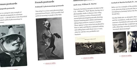 Photomontage Timeline
