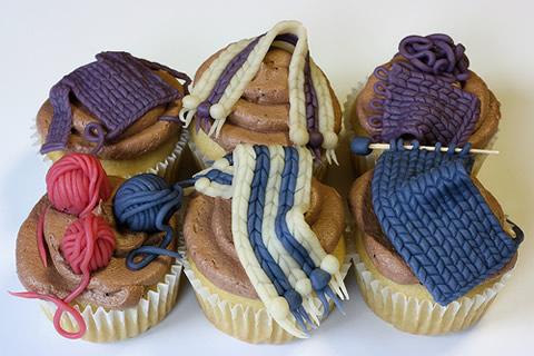 Marzapane fatto a maglia