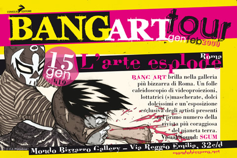 Bang Art Tour: l'arte esplode