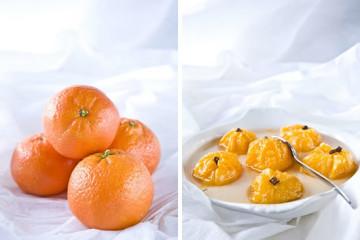 Clementine all'infuso di zenzero e garofano