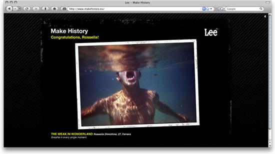 Rossella Dimichina vince il concorso Make History della Lee