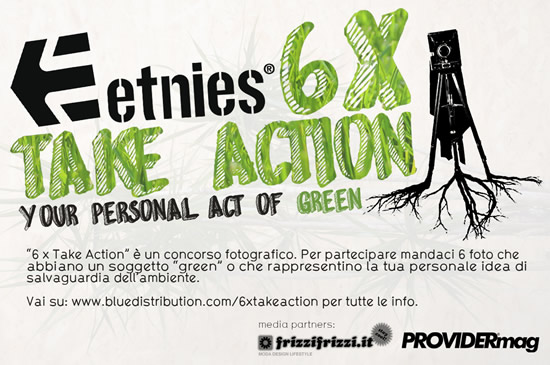 Etnies presenta 6 X Take Action Contest
