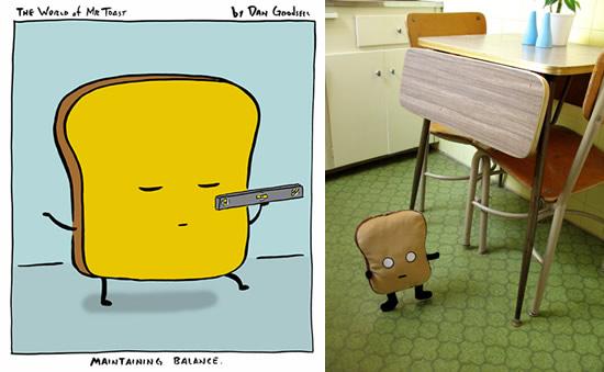 Good mooorning Mr. Toast!