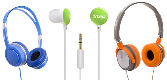Breo headphones & earphones