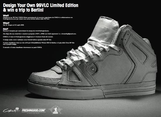 Design Your 99Vulc Limited Edition... e vinci