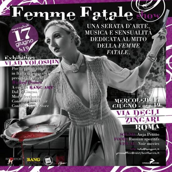 Bang Art presenta: Femme Fatale Show