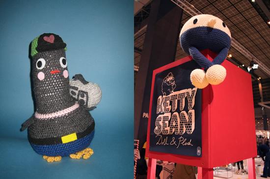 Ketty Sean e il pinguino fatto a maglia