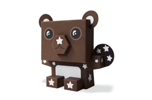 Orsetto Pan di Stelle Paper Toy