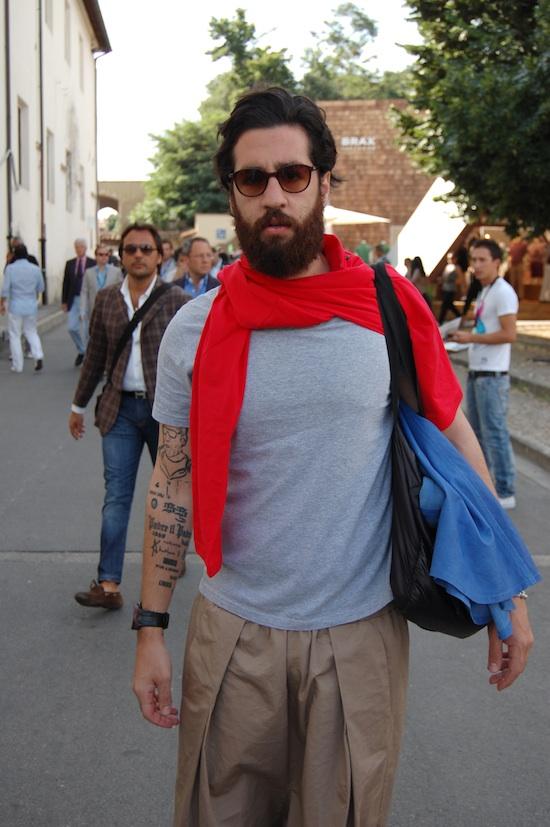 Pitti People #3: barba e baffi