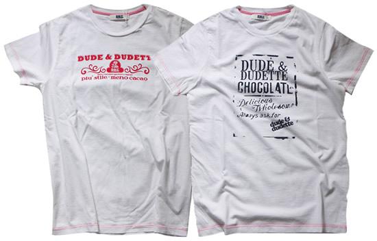 Frizzi-gift: 2 t-shirts Dude&Dudette