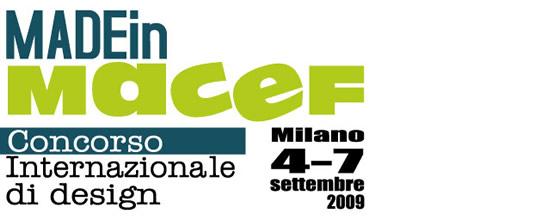 Made in Macef: concorso internazionale di design
