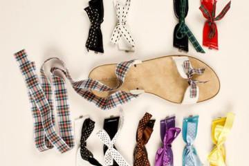 Roberto Giannelli: il sandalo intercambiabile