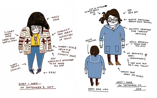 what i wore today gemma correll