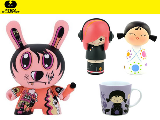 Frizzi-gift: toys selezionati da Atom Plastic