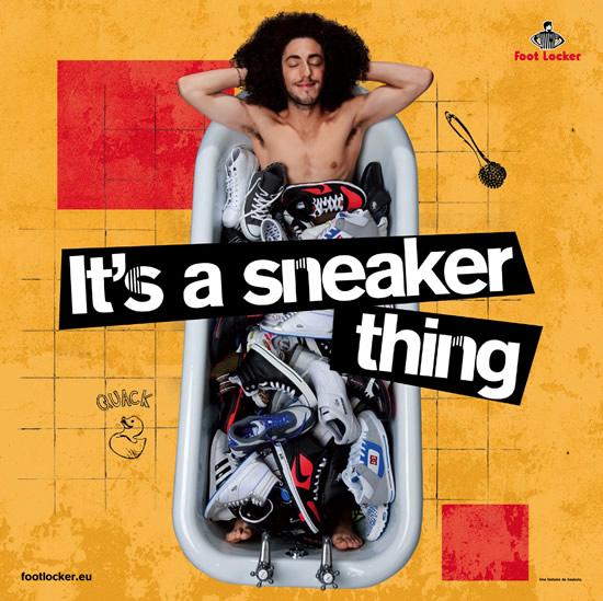 foot locker sneaker for life